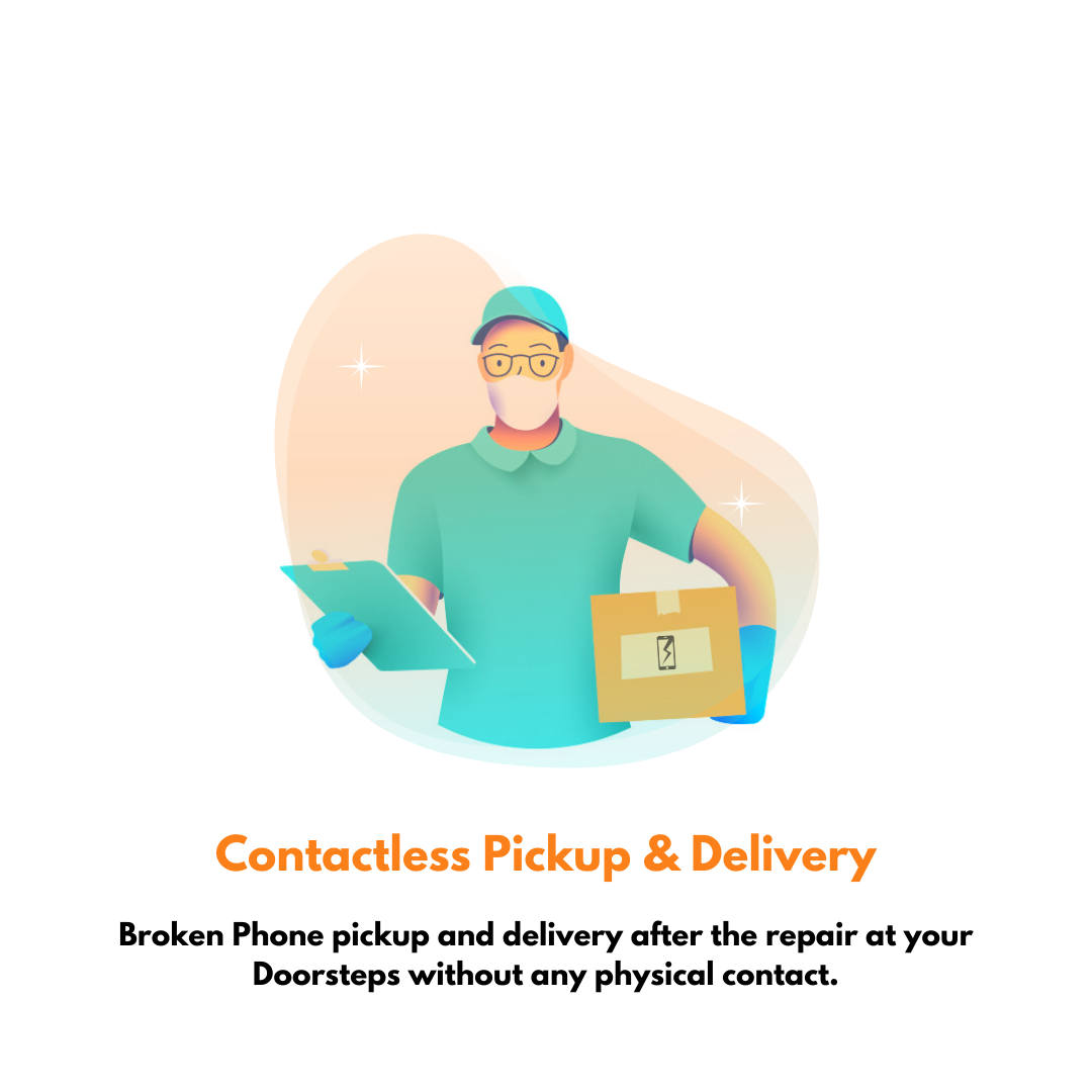Contactless pickup & delivery